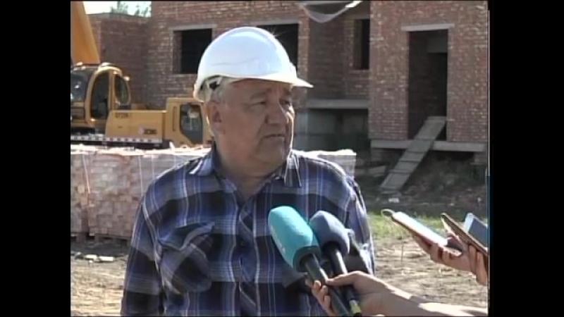 В Сергеевке строят дома делают уличное освещение 2018