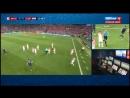 ФИНАЛ Франция Хорватия 2 1 Первый тайм