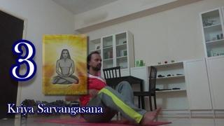 Kriya Hatha Yoga Asanas