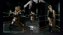 Backstage Alena in Boxing.