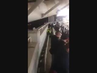 """Фаны """"Баварии"""" на стадионе АЕКа"""