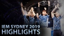 IEM Sydney 2019 highlights