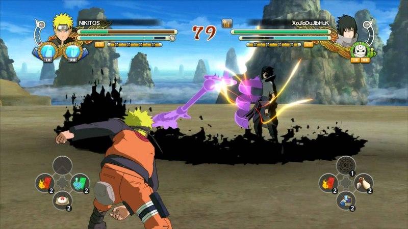Naruto Shippuuden Ultimate Ninja Storm 3 Full Burst ONLINE ИгроПроходимец Part 149