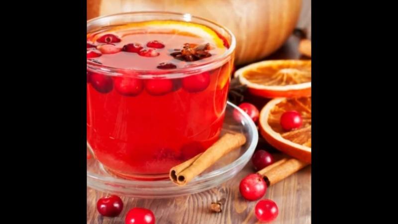 Чайный напиток из сушеных ягод Клюквы Назаровские чаи