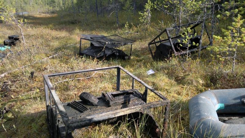 Поисковый магнит: Где-то в Карелии финский госпиталь и немецкие пусковые рамы Wurfgerat (Живой звук)