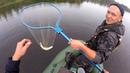 Осенняя рыбалка на озере, за щукой и окунем на кружки и спининг.