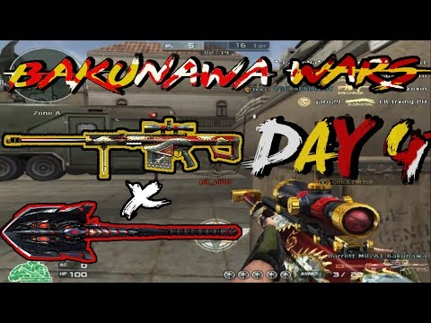 CrossFire PH Barrett Bakunawa (with Shovel-Obsidian Beast) | Bakunawa Wars (Day 4 of 4)