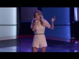 Dallas Caroline исполнила песню Always on My Mind на слепых прослушиваниях шоу Голос