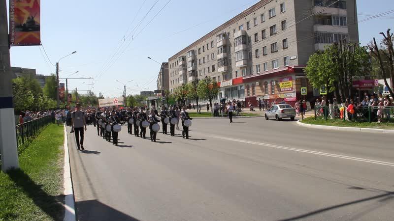 Парад 9 мая 2019 года Новочебоксарск