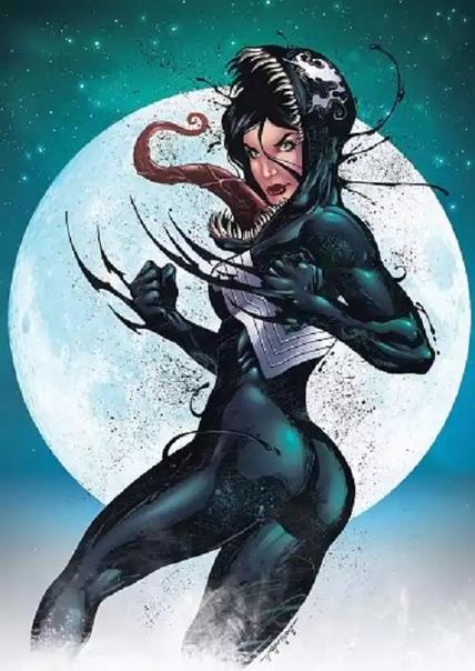 """Персонаж комиксов """"Марвел"""" - Веном. Веном-женщина и другие его обличья"""