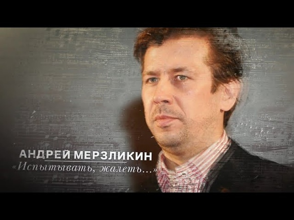 Стихи Агутина «Испытывать, жалеть...» читает Андрей Мерзликин