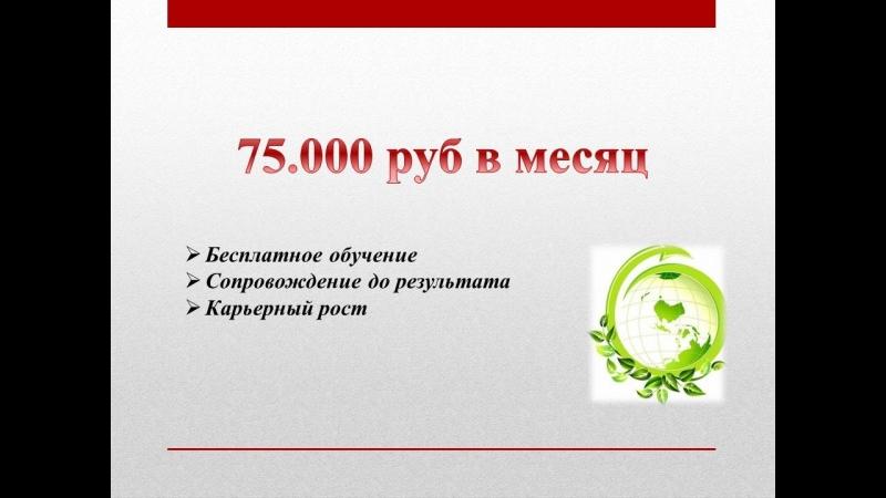Готовая система 75.000 руб в мес легально