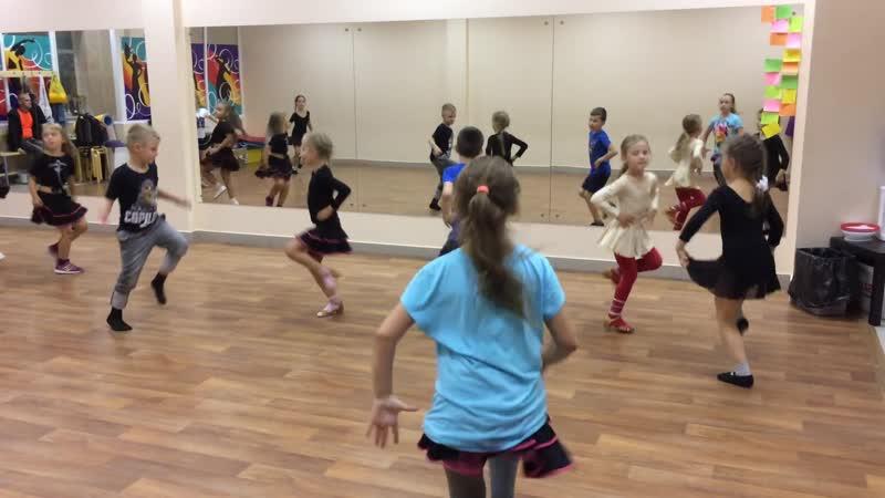 Бальные танцы (дети)
