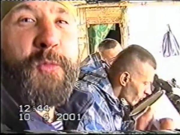 Отступление.Песня под гитару. Автор-исполнитель Валерий Некрасов. Чечня Омон 2001 год.