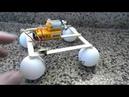 Vibration Car From Ping Png Balls