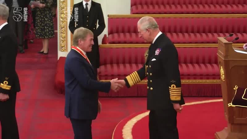 Sir Kenny Dalglish received knighthood from Prince Charles