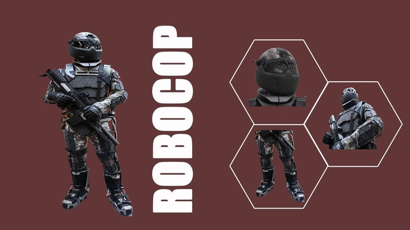 Russia tests 'robocop' power armor enabling soldiers to fire machine guns with one hand