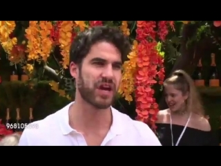 VIDEO Darren Criss at The 11th Annual Veuve Clicquot Polo Classic at Liberty State Park on