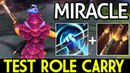 Miracle- [Pangolier] Shit Game! Test Role Carry 7.13 Dota 2