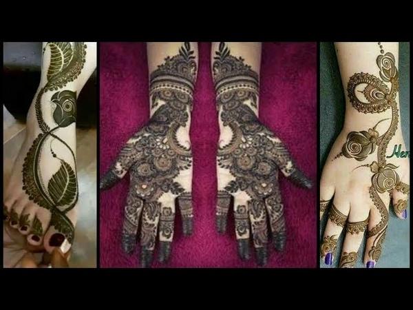 Top Beautiful and Elegant Bridal Hands Mehndi Designs 2019