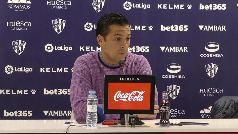 Rueda de prensa de Francisco Rodríguez. Previa del SD Huesca - Sevilla FC (01032019)