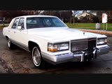 Автомобиль Cadillac Brougham 4 Door Sedan, 1990 года