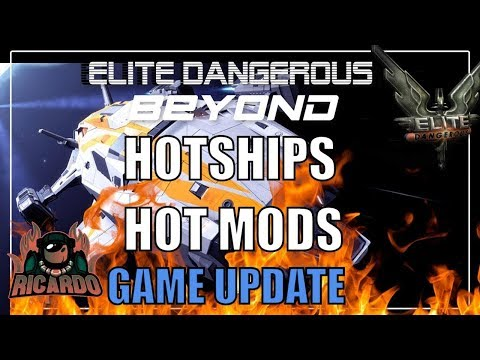 Elite Dangerous Hot Ships and Modules Game update