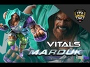 MARDUK VITALS - BNB COMBOS, PUNISHERS WALL GAME [W INPUTS]