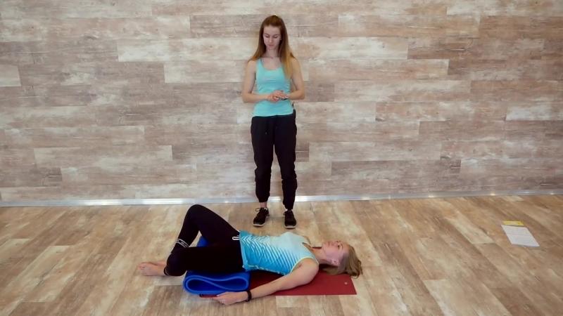 Упражнение для мам: укрепляем тазовое дно