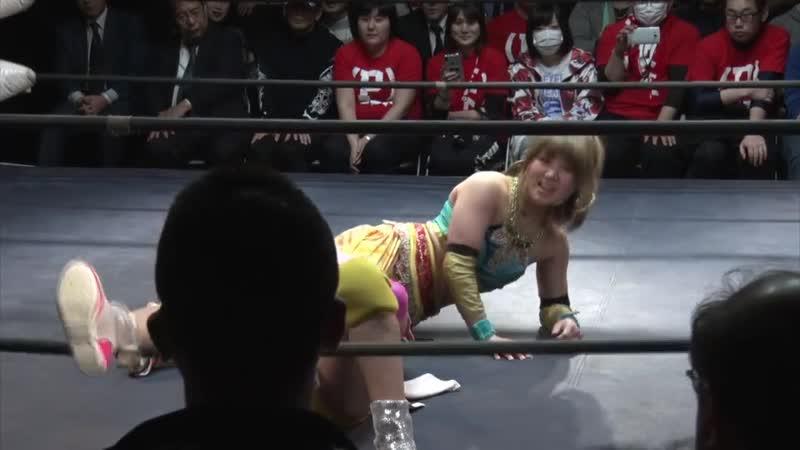 Himawari Unagi vs Yuka Sakazaki TJPW Pinano Pipipipi Graduation Special