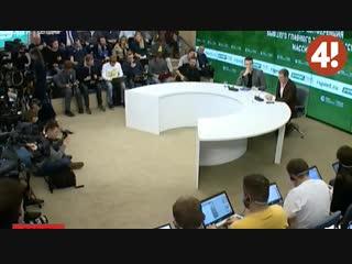 Пресс-конференция Карреры: о лайках Глушакова и Ещенко