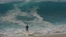 RAW - Young Professional Skimboarders Attempt to Ride Giant Waves On The Beach of Cabo San Lucas