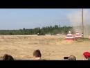 Т-80 в атаке. День танкиста, Сертолово, 08.09.2018.