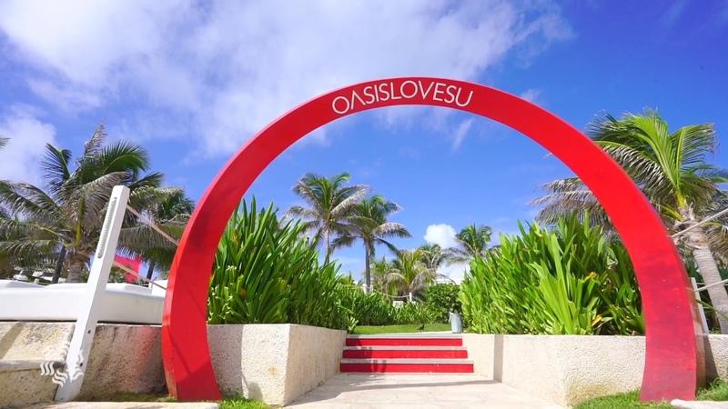 Grand Oasis Cancun Зажигательная Солнечная Мексика полный релакс в лучшем отеле