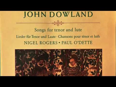 Dowland – Lachrimae Songs for Tenor and Lute (Century's recording : Paul O'Dette/Rogers)