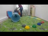 Подвижные игры с малышами на развитие вестибулярных ощущений и координацию
