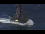 sailing with Paulo Mirpuri in big waves-fast
