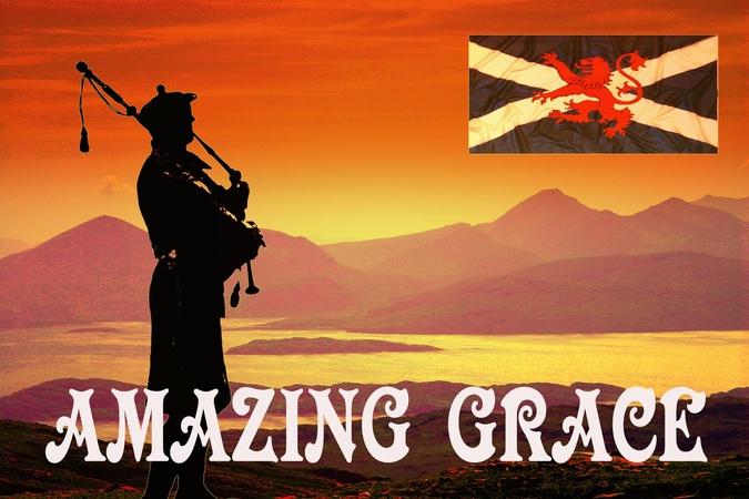 ⚡️AMAZING GRACE ⚡️ Royal Scots Dragoon Guards⚡️