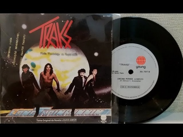 Traks - Long Train Running - (Compacto Completo 1983) - Baú Musical