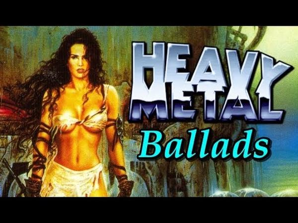 Classic Heavy Metal Ballads | 80s, 90's Playlist