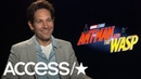 'Ant-Man & The Wasps's' Paul Rudd Recalls Being Mistaken For Ben Affleck On An Airplane! | Access