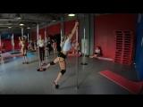 Тренировки в Pole Dance Лагере ПИЛОНиЯ! Июль 2018. Смена 4