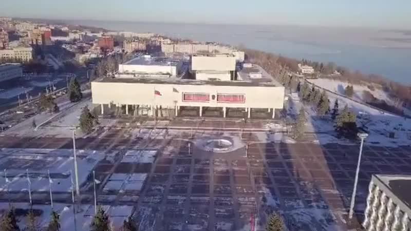 Прекрасный зимний Ульяновск