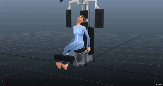 Концепт анимации: Leg Lift