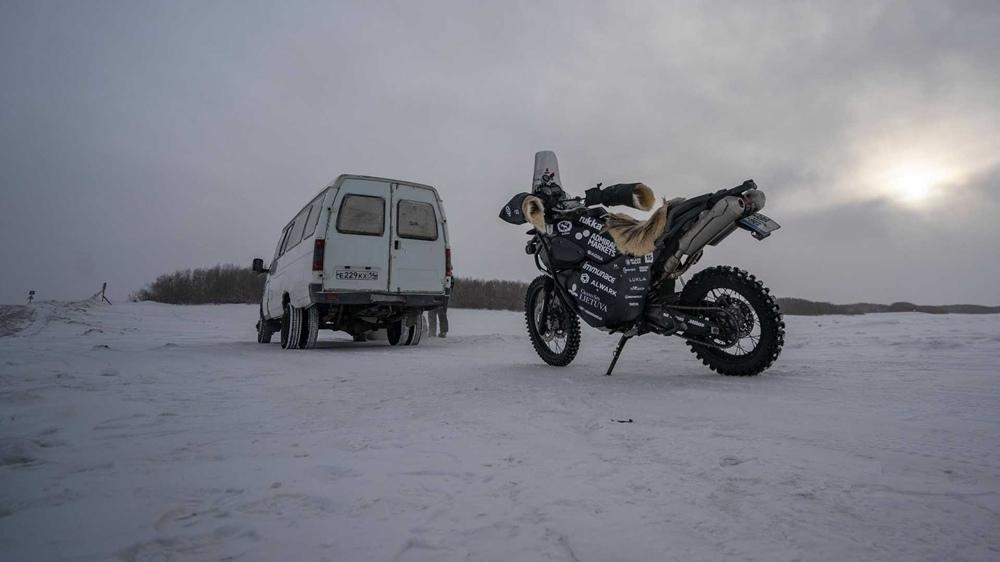 Северное мотопутешествие (Coldest Ride) по Сибири