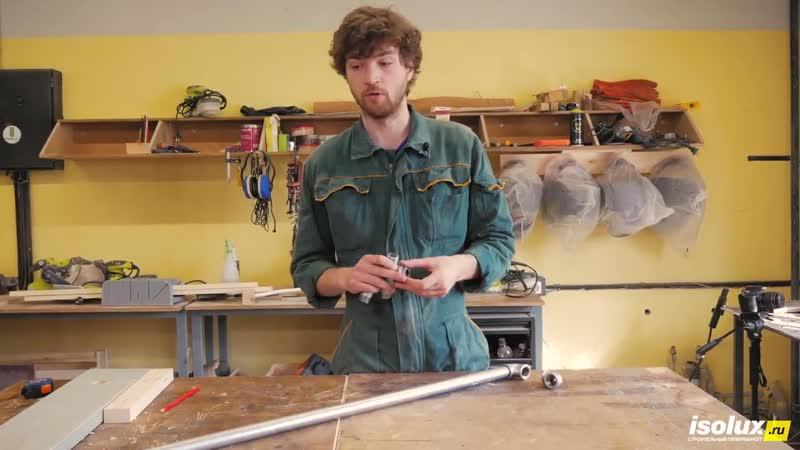 Лофт гардероб своими руками из дерева и труб _ Тумба в прихожую на колесиках _ DIY мебель