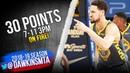 Klay Thompson Full Highlights 2019.01.11 Warriors vs Bulls - 30 Pts, 7 Threes! | FreeDawkins