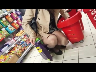 Shopper in Black Pantyhose, Free Voyeur Porn d1- xHamster