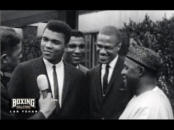 Muhammad Ali and Malcolm X – Rare 1965 Interview