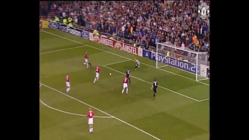 Манчестер Юнайтед 4:3 Реал 1/4 финала ЛЧ, 23.04.2003
